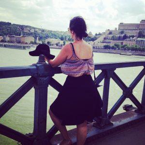 Kathi in Budapest, Ungarn