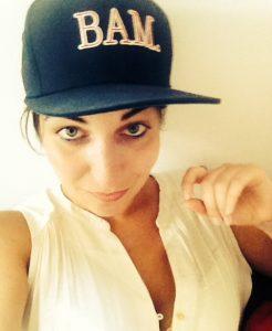 Kathi mit Kappe