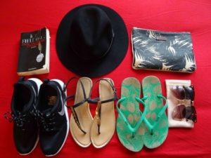 Hut, Schuhe, Sonnenbrillen & Co.