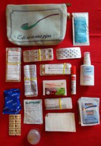 Medizinische Verpflegung während der Weltreise