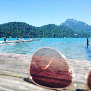 Traumhafter Blick auf den Fuschlsee, Salzburg Land