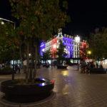 Dijon bei Nacht