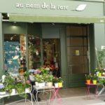 Supersüßer blumenladen in Dijon