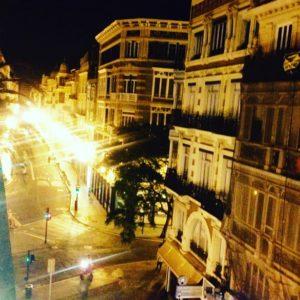 Valencia, Spanien nachts