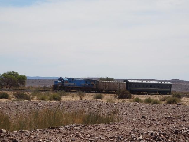 Auch Züge gibt es