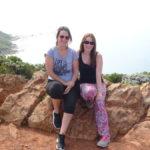Kathi und Katja am Kap der Guten Hoffnung