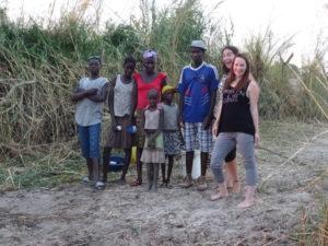 Einheimische Angolas