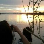 Sonnenuntergan Kavango