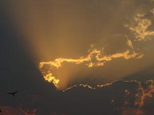 Spektakulärer Himmel