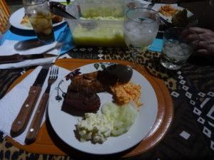 Grillen auf afrikaans