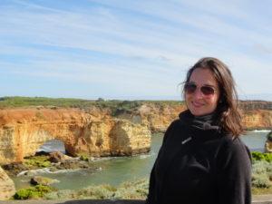 Klippen an der Südküste Australiens