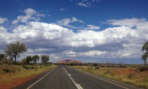 Die australische Schneelandschaft & der Bombenhügel