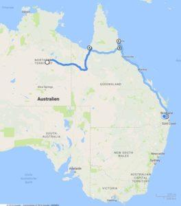 Outback und Ostküste