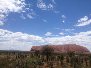 Uluru im australischen outback