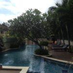 Pool im Rhadana Hotel