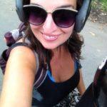 Kathi mit Helm