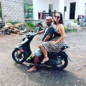 Motorroller-Ausflug auf Bali