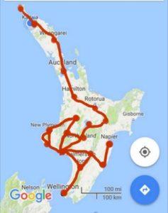 Kreuz und quer über die Nordinsel Neuseelands