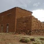 Ruinen auf dem Weg nach Potosi