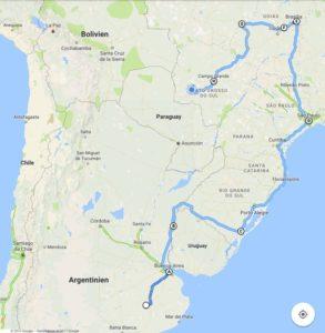 Argentinien und Brasilien