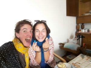 Frida & Kathi feiern Ostern mit Ostereiern