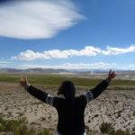 Traumhafter Blick in bolivianischen Höhenlagen