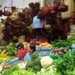 Zentralmarkt in Sucre, Bolivien
