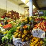 Obst und Gemüse wohin das Auge reicht