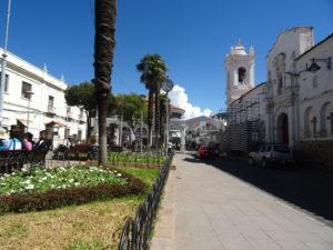 Die weiße Kolonialstadt Sucre
