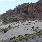 Gesteinslandschaft in Bolivien