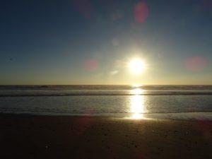 Tag am Strand, Chile