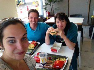 Erstes Mal McDonalds nach Jahren