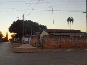 Das kleine Dorf Abadiania in Brasilien