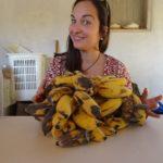 Ich war Bananen pflücken