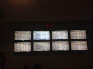 Übersicht aller verspäteten Flüge in Panama
