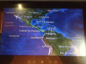 Von Chile über Panama nach Kalifornien