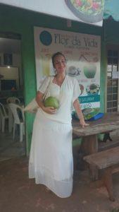 Lecker Kokosnuss nach der Casa