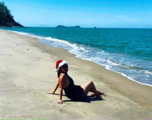 Weihnachten 2016 am Strand von Australien